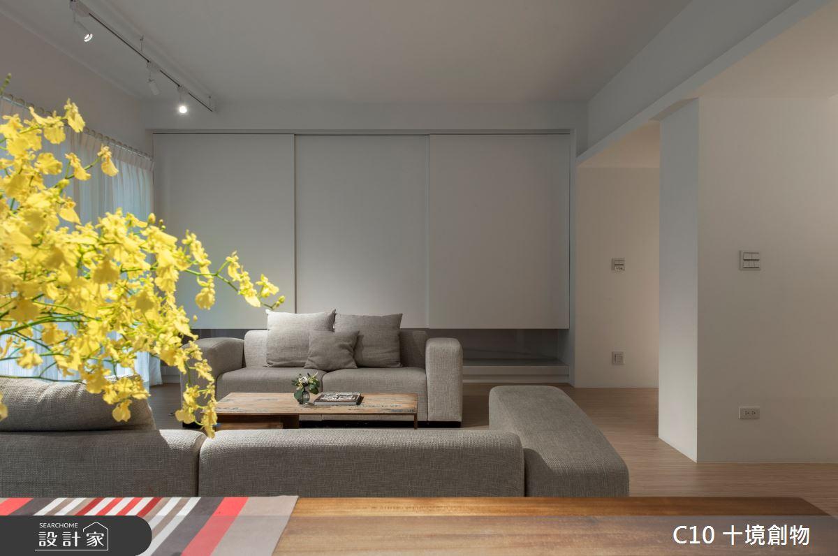 50坪新成屋(5年以下)_簡約風案例圖片_十境創物空間設計有限公司_十境_白水鑒心之5