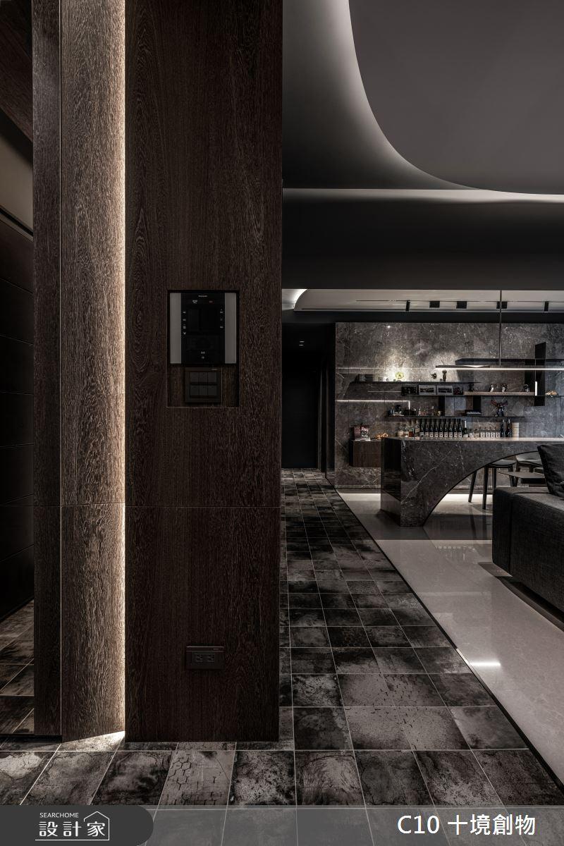 30坪新成屋(5年以下)_現代風案例圖片_十境創物空間設計有限公司_十境_墨韻之2