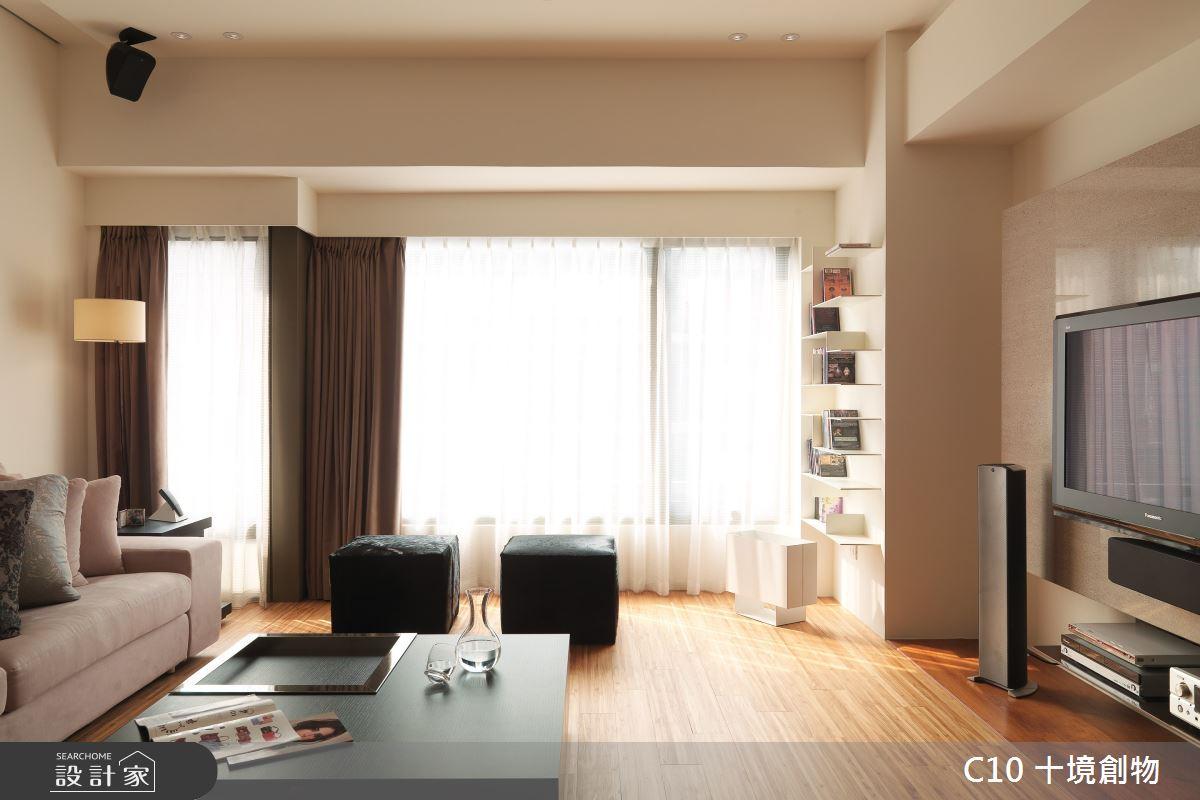 30坪新成屋(5年以下)_現代風案例圖片_十境創物空間設計有限公司_十境_隱飾之2