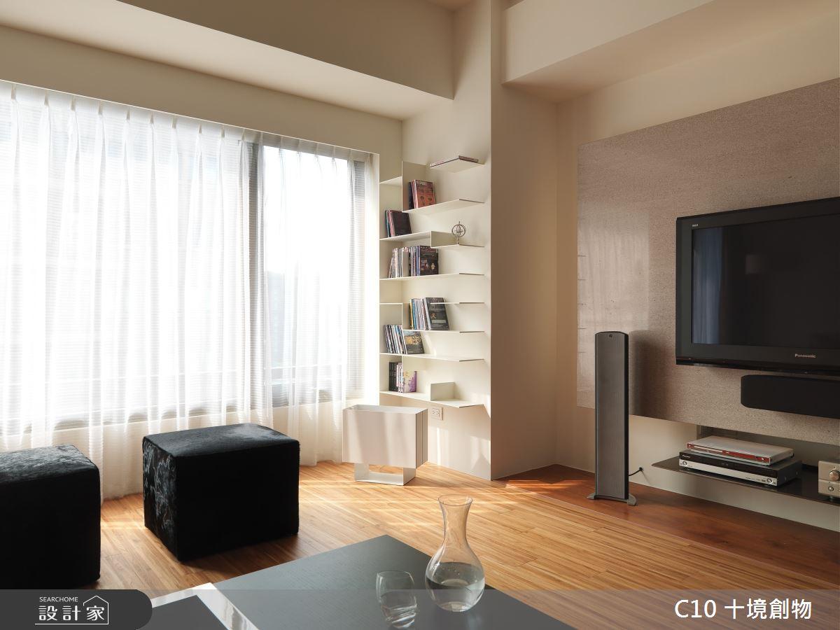 30坪新成屋(5年以下)_現代風案例圖片_十境創物空間設計有限公司_十境_隱飾之4