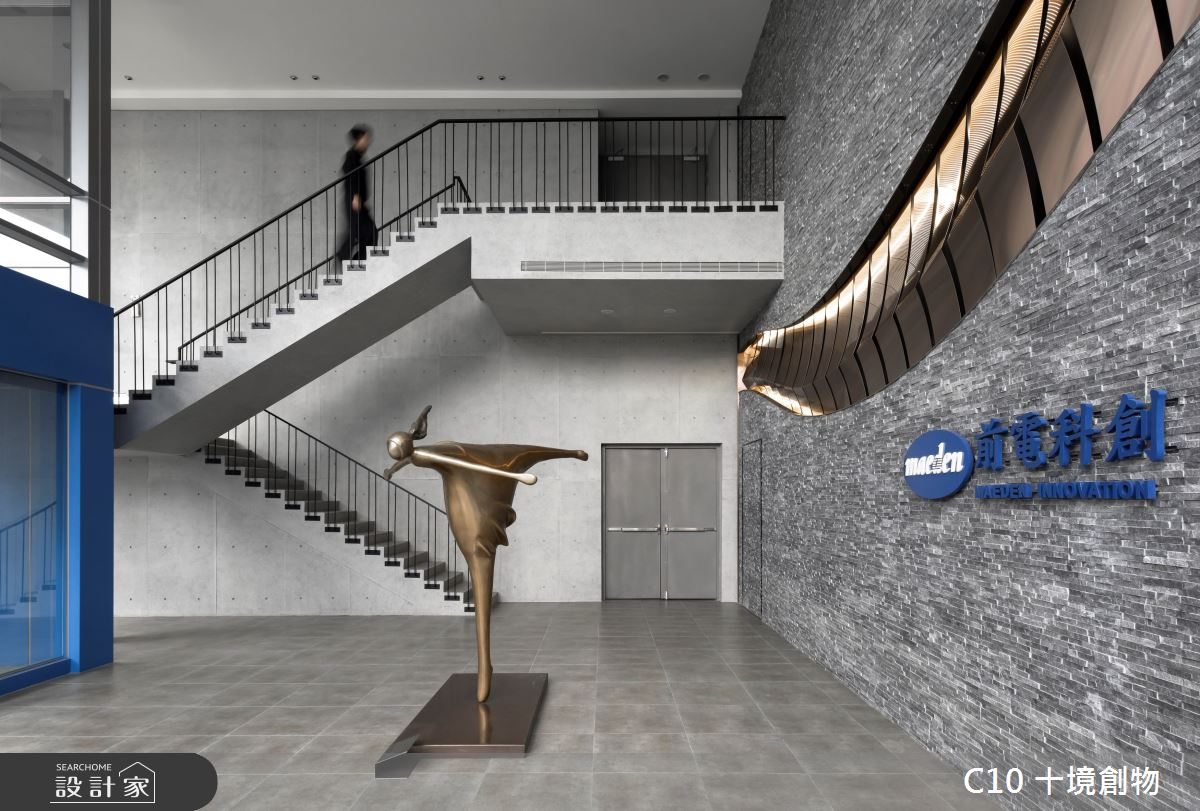 100坪新成屋(5年以下)_混搭風案例圖片_十境創物空間設計有限公司_十境_龍游曲沼之3
