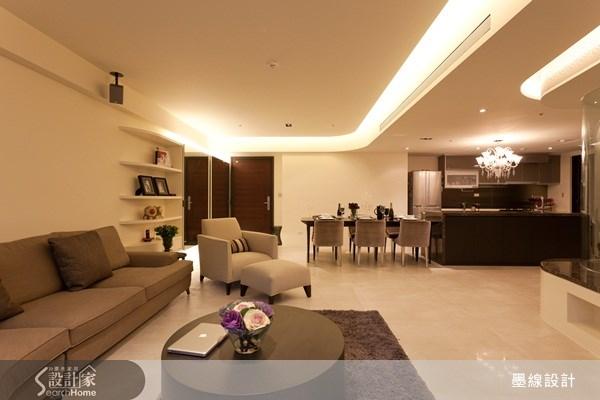 40坪新成屋(5年以下)_奢華風案例圖片_墨線設計有限公司_墨線_12之3