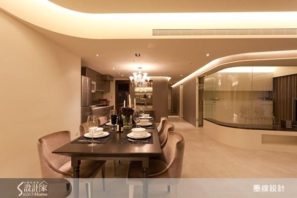 40坪新成屋(5年以下)_奢華風案例圖片_墨線設計有限公司_墨線_12之1