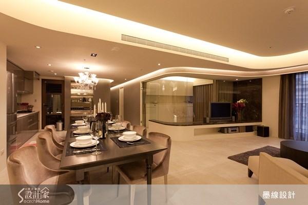 40坪新成屋(5年以下)_奢華風案例圖片_墨線設計有限公司_墨線_12之2