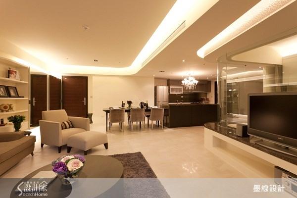 40坪新成屋(5年以下)_奢華風案例圖片_墨線設計有限公司_墨線_12之4