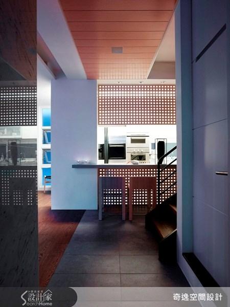 65坪老屋(16~30年)_現代風吧檯案例圖片_奇逸空間設計_奇逸_04之5