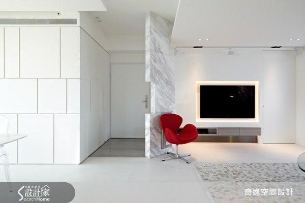 49坪新成屋(5年以下)_現代風客廳案例圖片_奇逸空間設計_奇逸_08之3