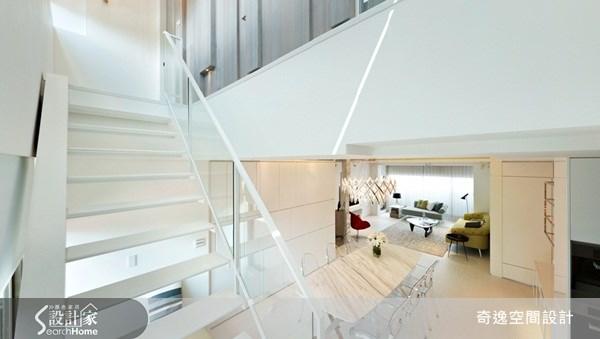 49坪新成屋(5年以下)_現代風樓梯案例圖片_奇逸空間設計_奇逸_08之10