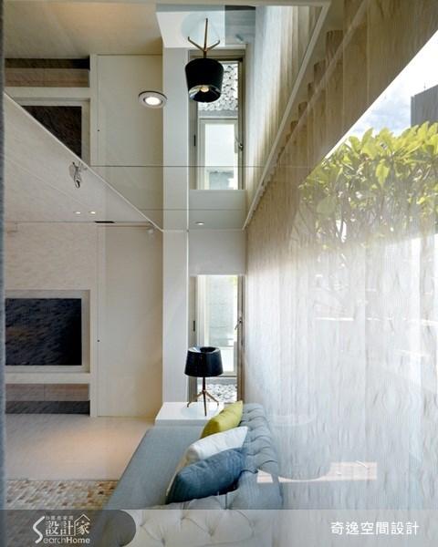 49坪新成屋(5年以下)_現代風客廳案例圖片_奇逸空間設計_奇逸_08之4
