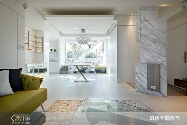 49坪新成屋(5年以下)_現代風客廳案例圖片_奇逸空間設計_奇逸_08之2