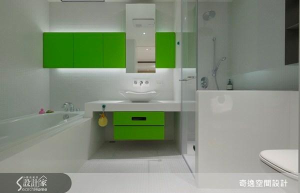 45坪新成屋(5年以下)_現代風浴室案例圖片_奇逸空間設計_奇逸_09之10