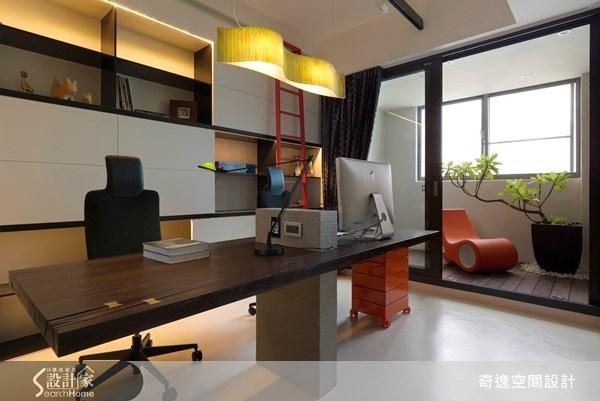45坪新成屋(5年以下)_現代風書房案例圖片_奇逸空間設計_奇逸_09之3