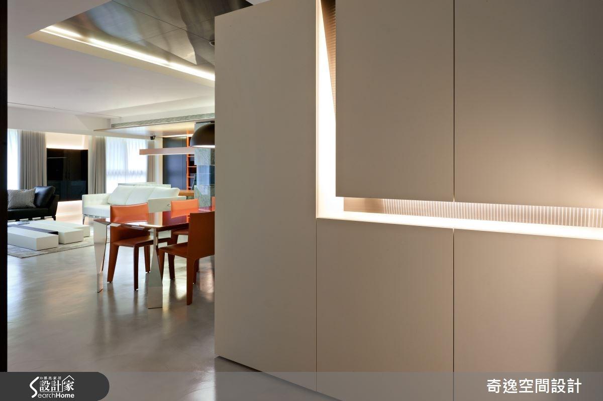 新成屋(5年以下)_簡約風玄關餐廳案例圖片_奇逸空間設計_奇逸_10之1