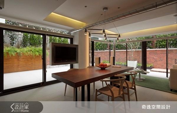 50坪老屋(16~30年)_現代風餐廳案例圖片_奇逸空間設計_奇逸_11之3