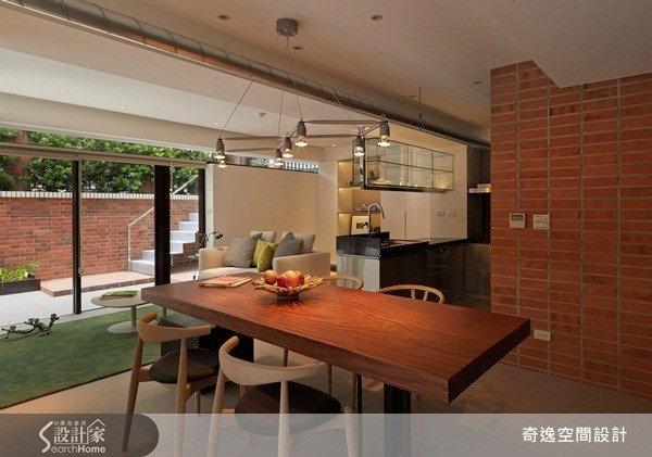50坪老屋(16~30年)_現代風餐廳案例圖片_奇逸空間設計_奇逸_11之2