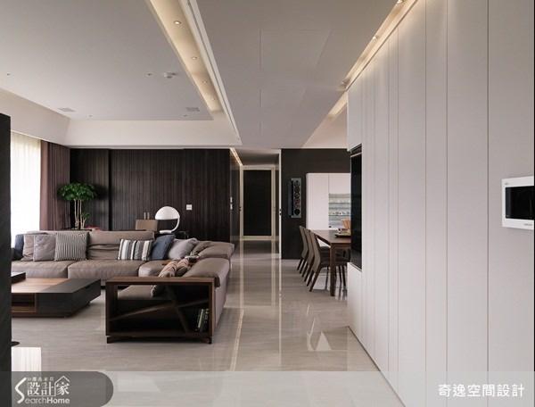 66坪新成屋(5年以下)_簡約風客廳案例圖片_奇逸空間設計_奇逸_13之1