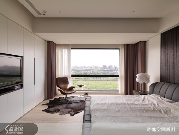 66坪新成屋(5年以下)_簡約風臥室案例圖片_奇逸空間設計_奇逸_13之8