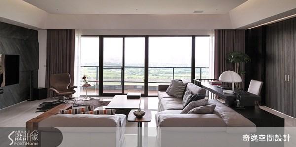 66坪新成屋(5年以下)_簡約風客廳案例圖片_奇逸空間設計_奇逸_13之7