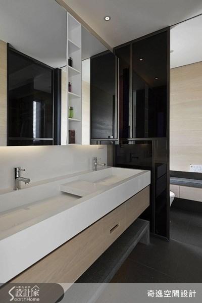 66坪新成屋(5年以下)_簡約風浴室案例圖片_奇逸空間設計_奇逸_14之17