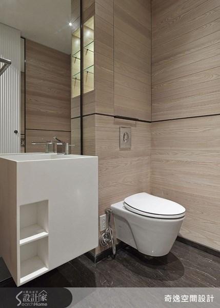66坪新成屋(5年以下)_簡約風浴室案例圖片_奇逸空間設計_奇逸_14之18