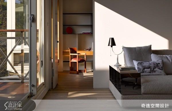 63坪中古屋(5~15年)_現代風客廳書房案例圖片_奇逸空間設計_奇逸_15之3
