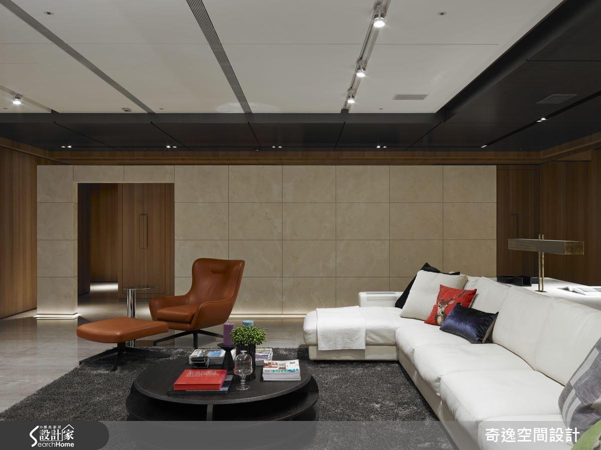 202坪新成屋(5年以下)_現代風客廳案例圖片_奇逸空間設計_奇逸_18之2