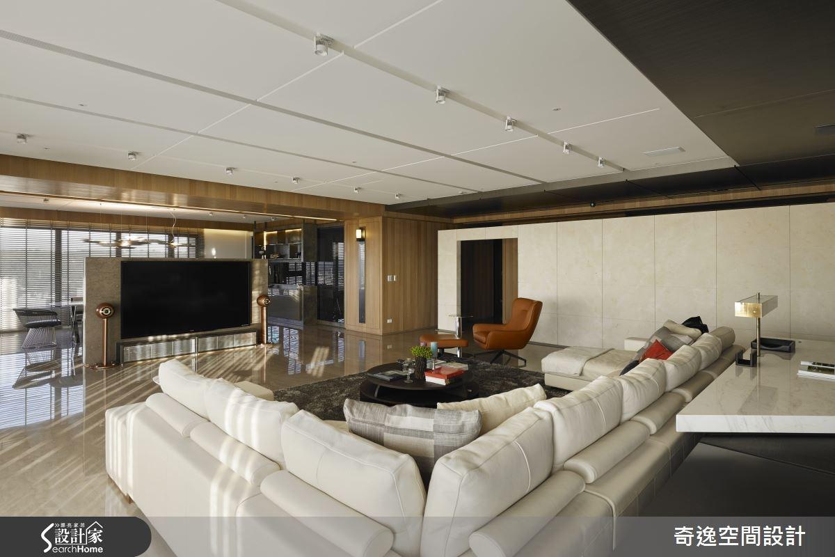 202坪新成屋(5年以下)_現代風客廳案例圖片_奇逸空間設計_奇逸_18之4