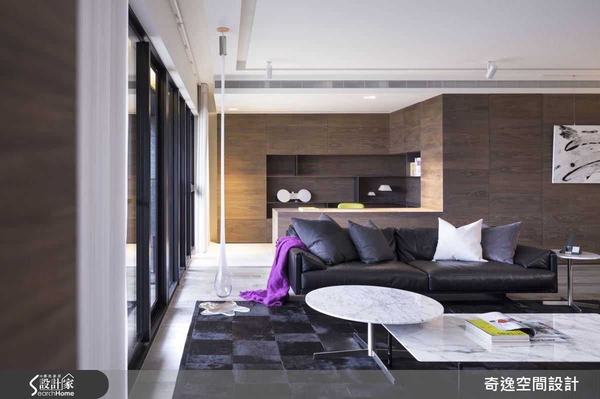 40坪新成屋(5年以下)_現代風案例圖片_奇逸空間設計_奇逸_20之2