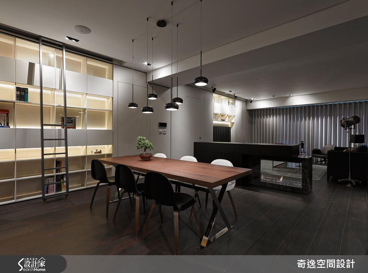 50坪新成屋(5年以下)_現代風餐廳案例圖片_奇逸空間設計_奇逸_21之2