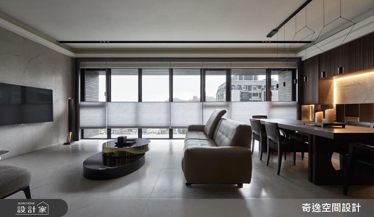 34坪新成屋(5年以下)_混搭風客廳工作區案例圖片_奇逸空間設計_奇逸_28之1