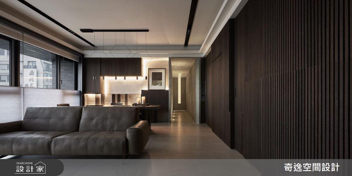 34坪新成屋(5年以下)_混搭風客廳案例圖片_奇逸空間設計_奇逸_28之3