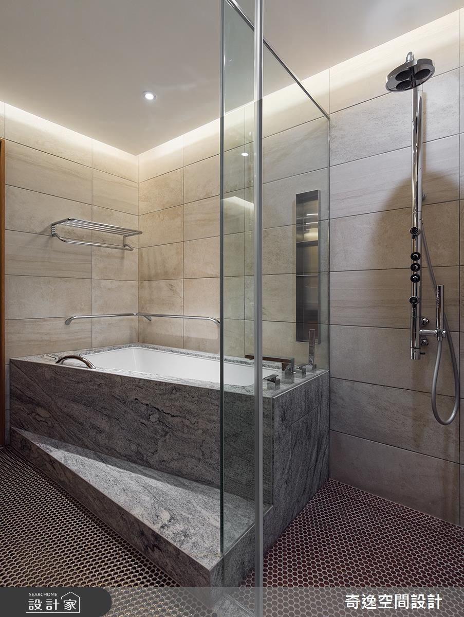 老屋(16~30年)_人文禪風浴室案例圖片_奇逸空間設計_奇逸_30之54