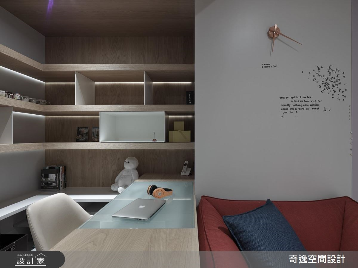 95坪新成屋(5年以下)_新中式風臥室案例圖片_奇逸空間設計_奇逸_32之26