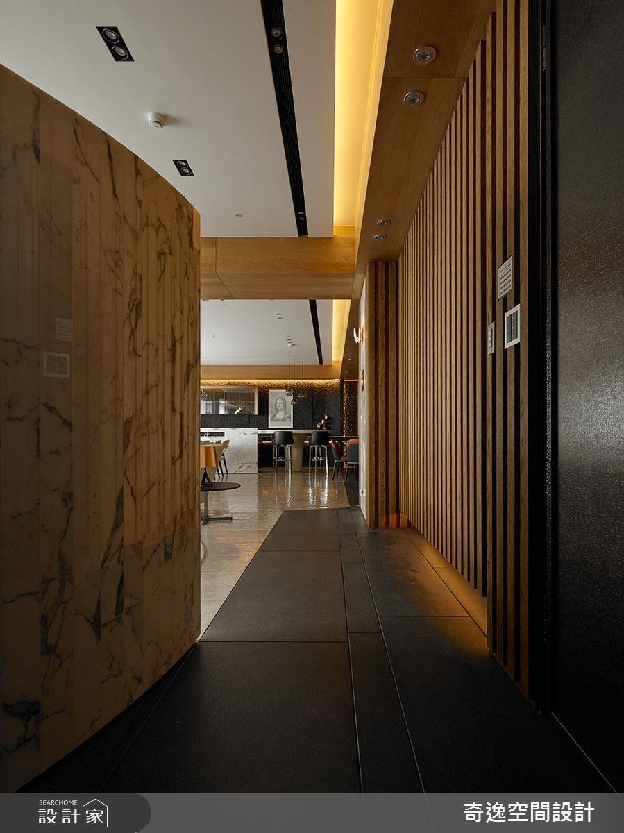 75坪新成屋(5年以下)_現代風玄關案例圖片_奇逸空間設計_奇逸_33之1