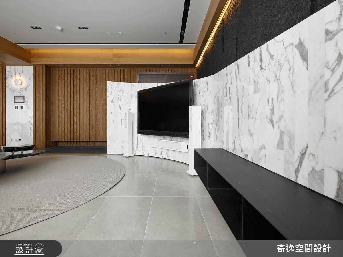 75坪新成屋(5年以下)_現代風客廳案例圖片_奇逸空間設計_奇逸_33之4