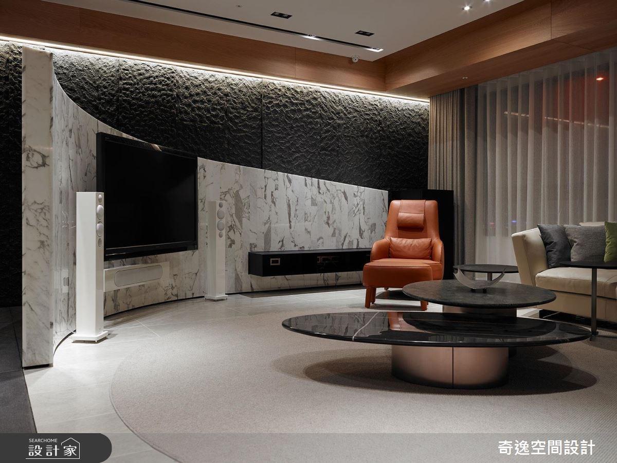 75坪新成屋(5年以下)_現代風客廳案例圖片_奇逸空間設計_奇逸_33之11