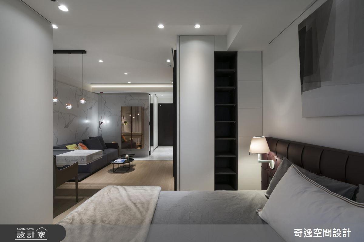 9坪新成屋(5年以下)_簡約風臥室案例圖片_奇逸空間設計_奇逸_35之7