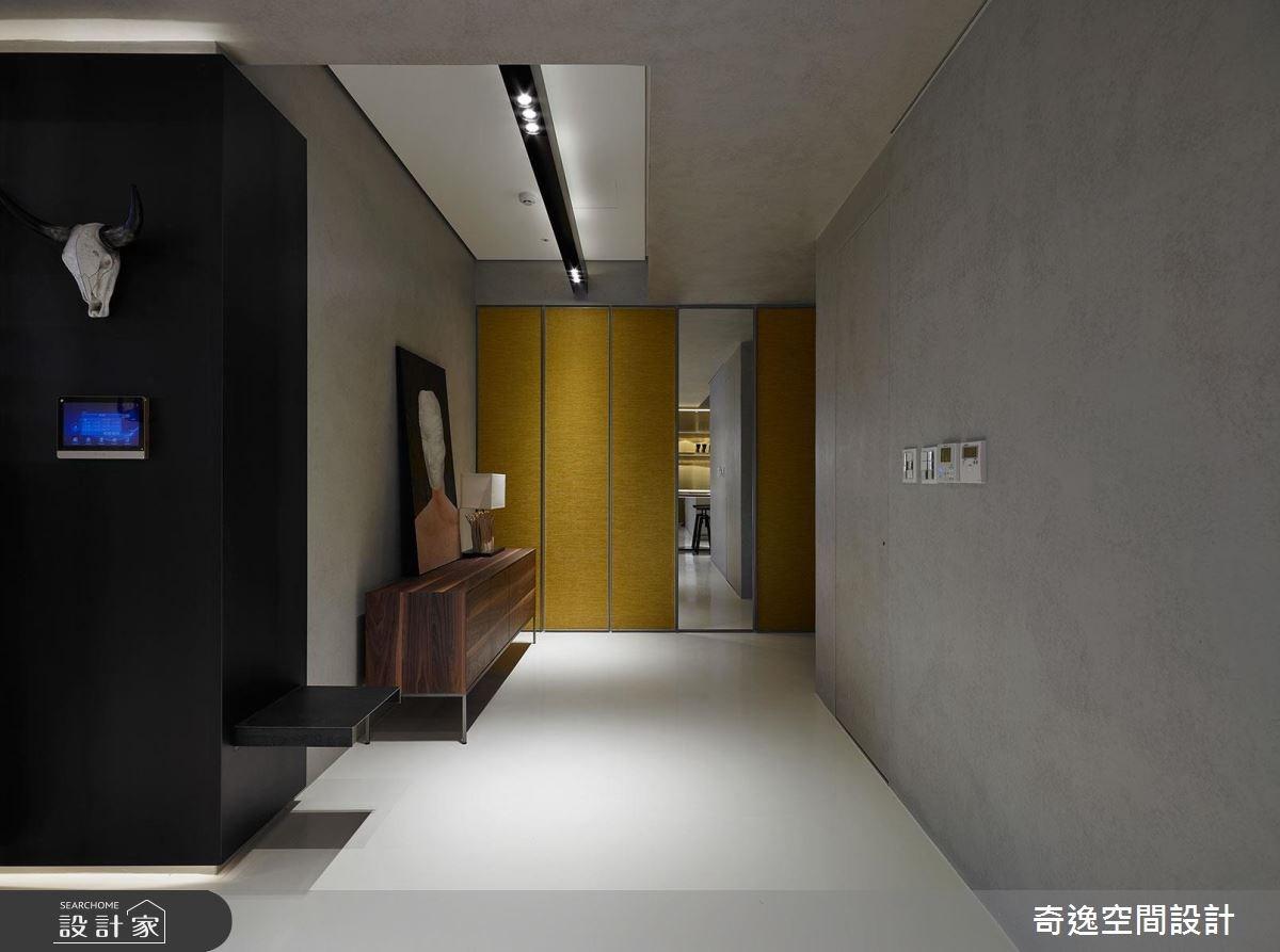 43坪新成屋(5年以下)_混搭風玄關案例圖片_奇逸空間設計_奇逸_37之3
