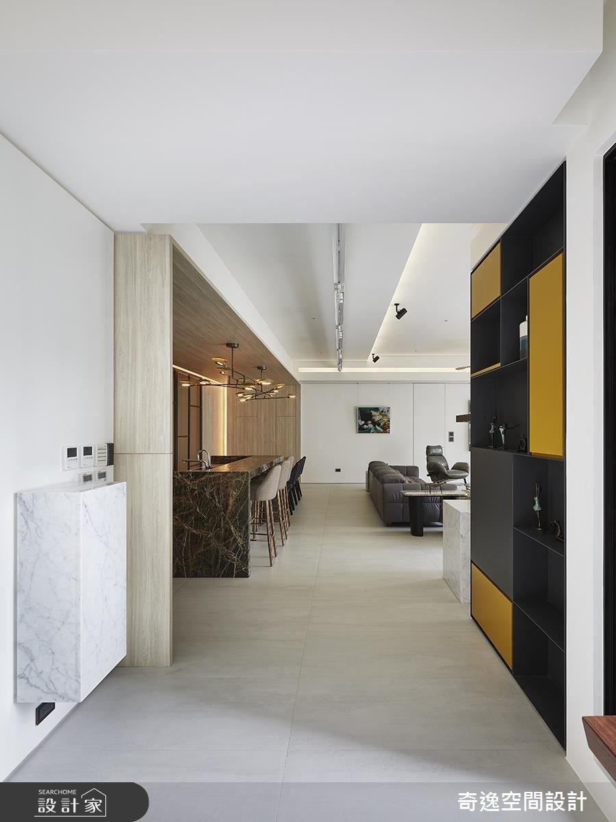 90坪新成屋(5年以下)_現代風玄關案例圖片_奇逸空間設計_奇逸_39之2