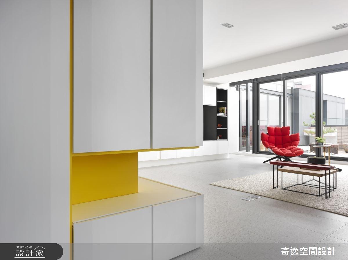 30坪新成屋(5年以下)_現代風玄關案例圖片_奇逸空間設計_奇逸_42之2