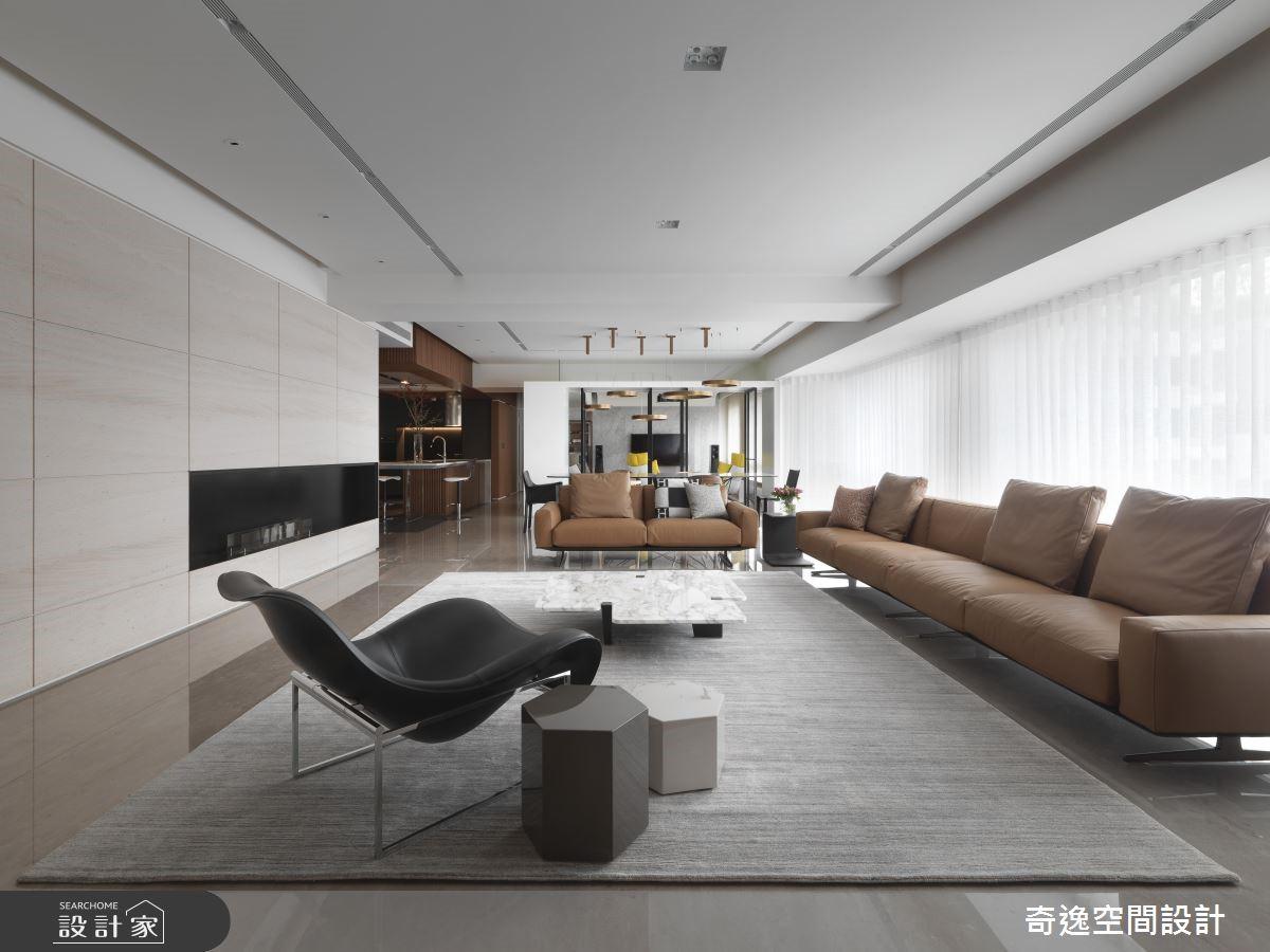 85坪中古屋(5~15年)_現代風客廳案例圖片_奇逸空間設計_奇逸_43之2