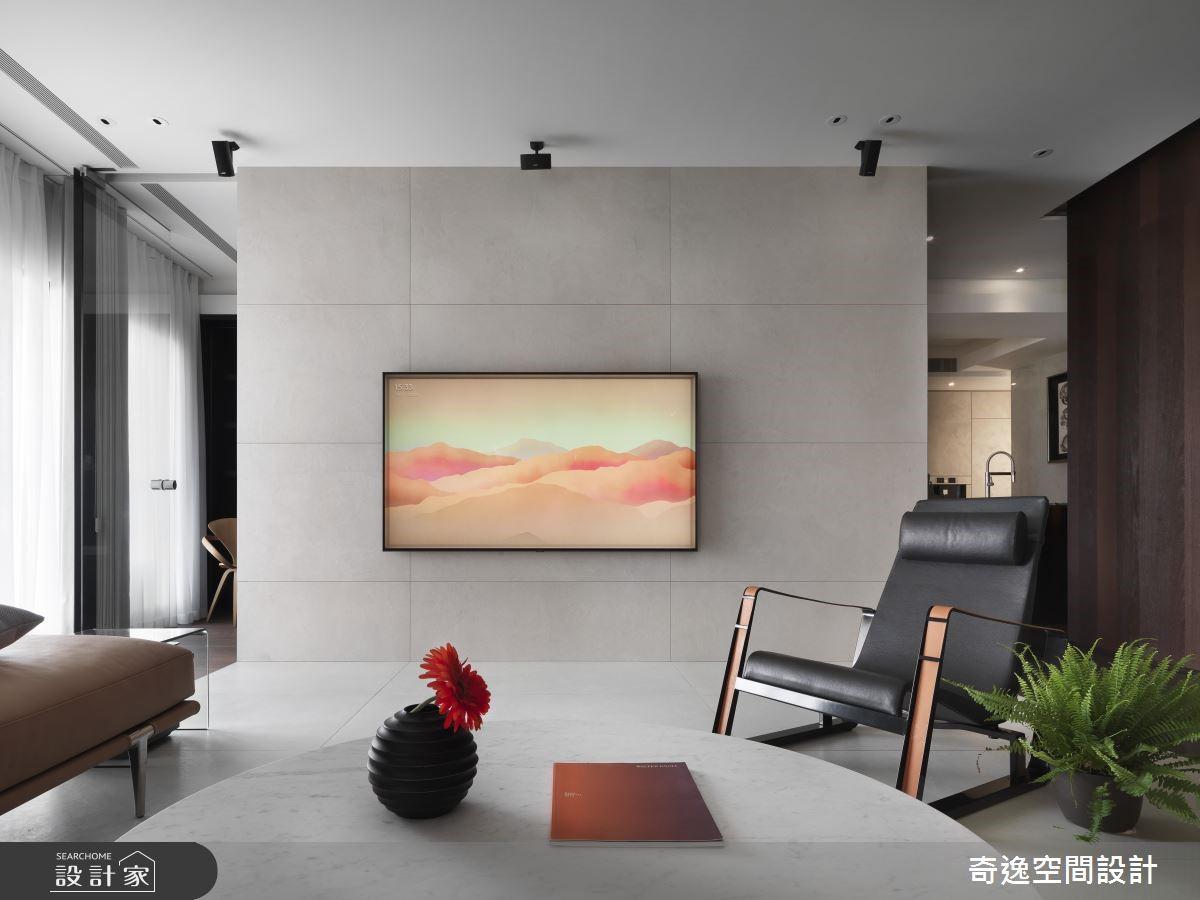 80坪新成屋(5年以下)_現代風客廳案例圖片_奇逸空間設計_奇逸_44之3