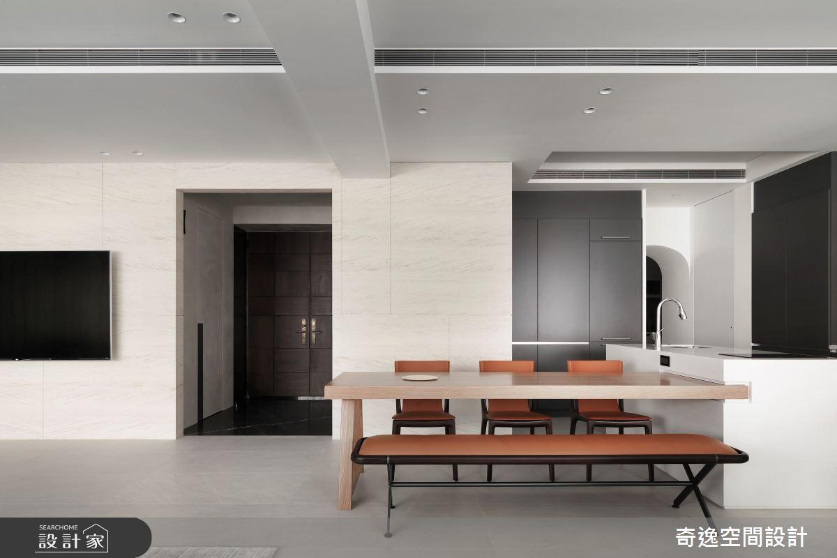 60坪新成屋(5年以下)_現代風中島案例圖片_奇逸空間設計_奇逸_45之3