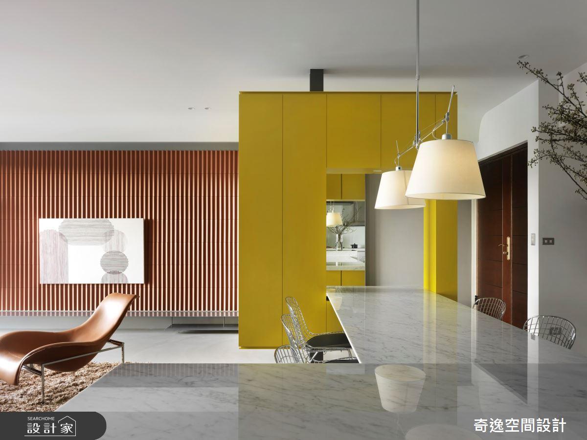 39坪新成屋(5年以下)_現代風客廳案例圖片_奇逸空間設計_奇逸_46之2