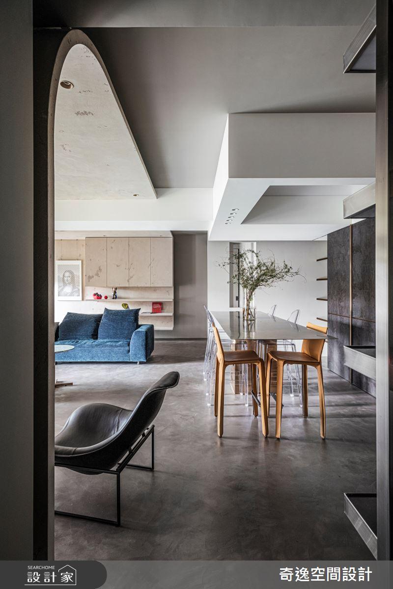 51坪新成屋(5年以下)_現代風餐廳案例圖片_奇逸空間設計_奇逸_48之3
