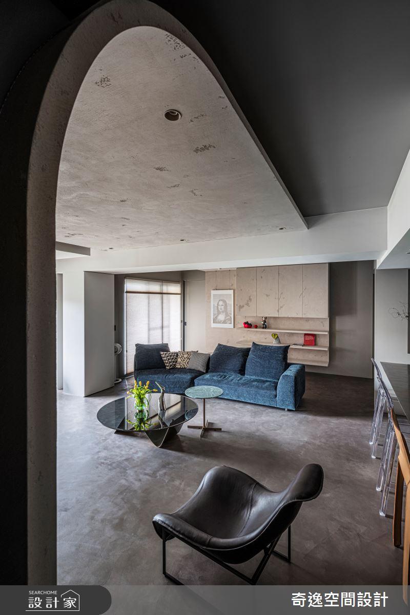 51坪新成屋(5年以下)_現代風客廳案例圖片_奇逸空間設計_奇逸_48之4