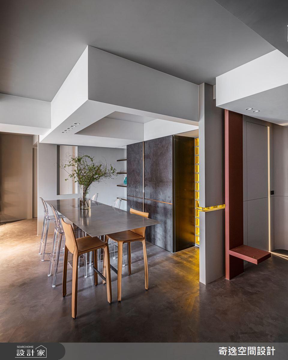 51坪新成屋(5年以下)_現代風餐廳案例圖片_奇逸空間設計_奇逸_48之2