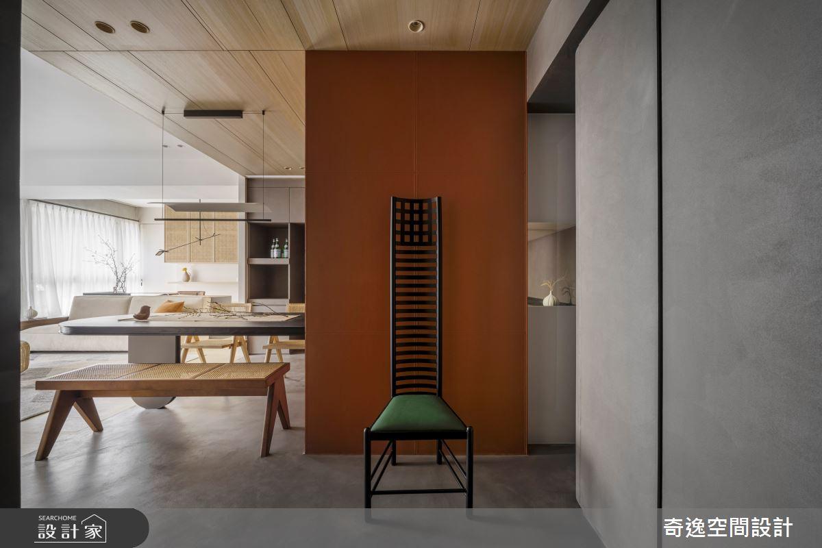 33坪新成屋(5年以下)_現代風案例圖片_奇逸空間設計_奇逸_49之1