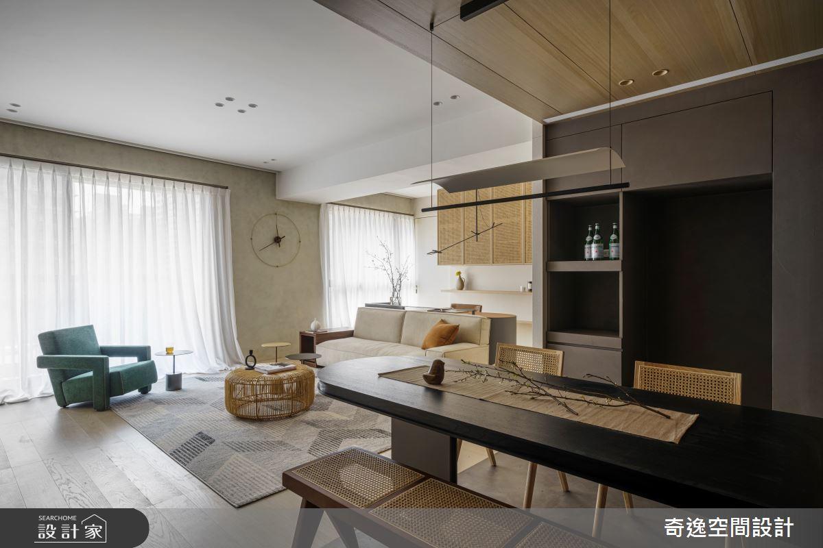 33坪新成屋(5年以下)_現代風案例圖片_奇逸空間設計_奇逸_49之3