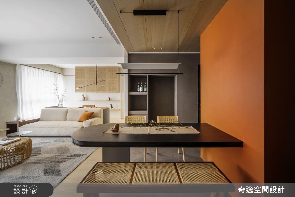 33坪新成屋(5年以下)_現代風案例圖片_奇逸空間設計_奇逸_49之2